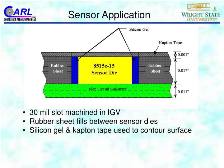 Sensor Application