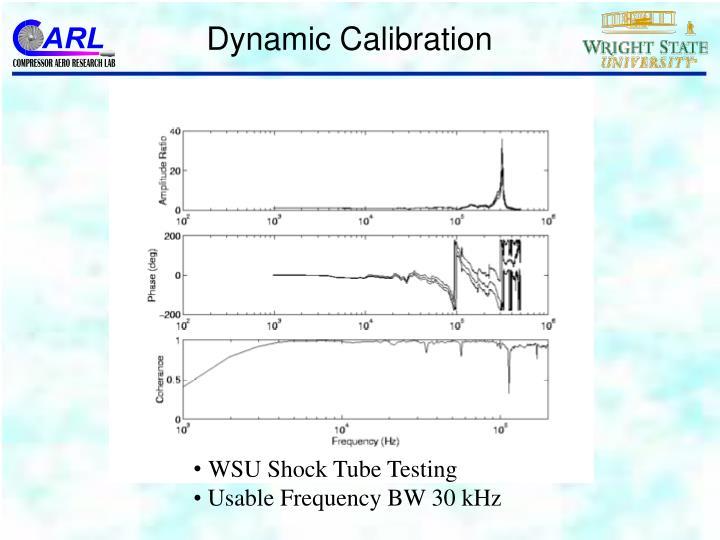 Dynamic Calibration