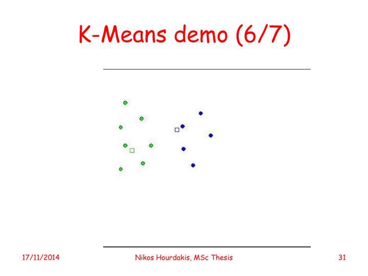 K-Means demo (6/7)
