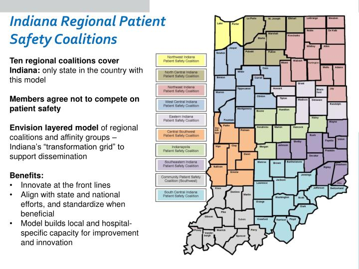 Indiana Regional Patient Safety Coalitions