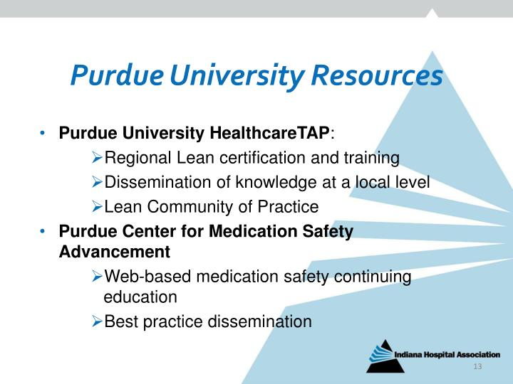 Purdue University Resources