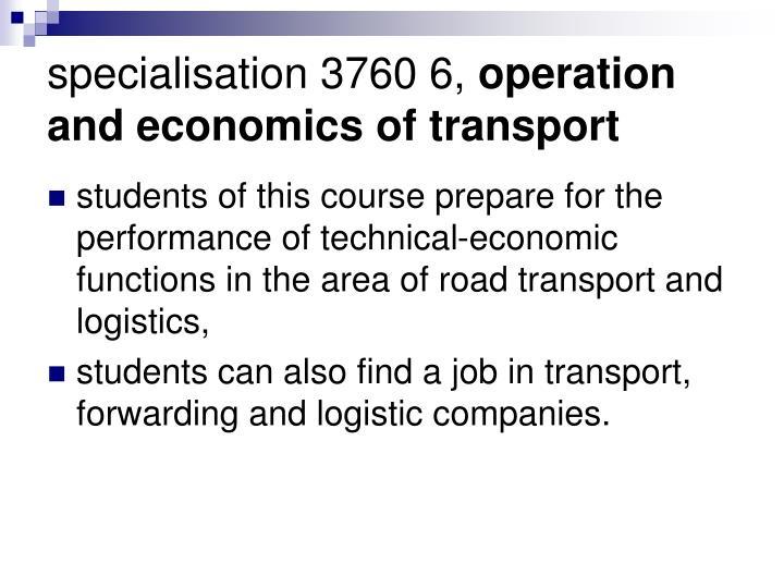 specialisation 3760 6,