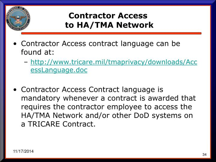 Contractor Access