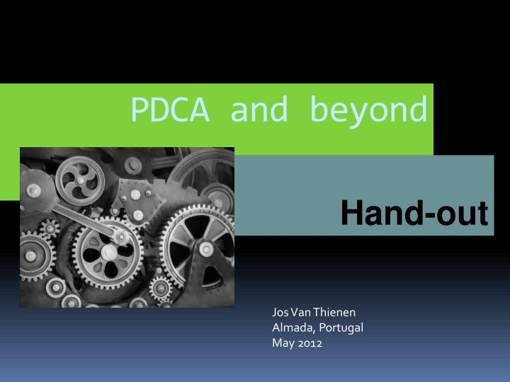 pdca and beyond n.