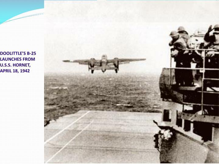 DOOLITTLE'S B-25