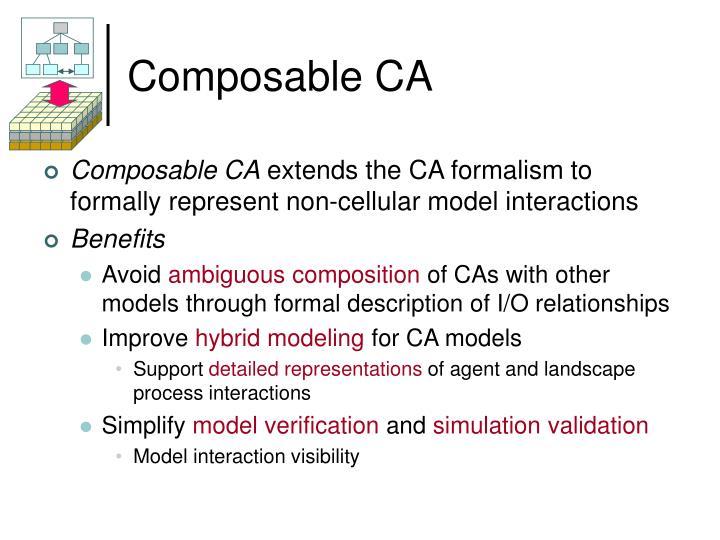 Composable CA