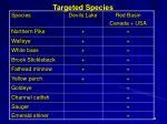 targeted species1