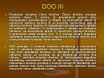 doo iii