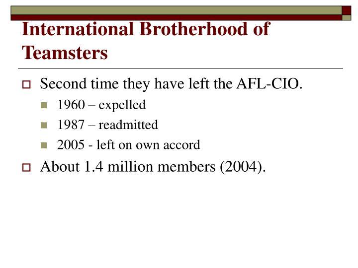 International Brotherhood of Teamsters
