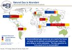 natural gas is abundant unconventional gas resources in place
