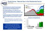 south korea natural gas in the residential sector case study