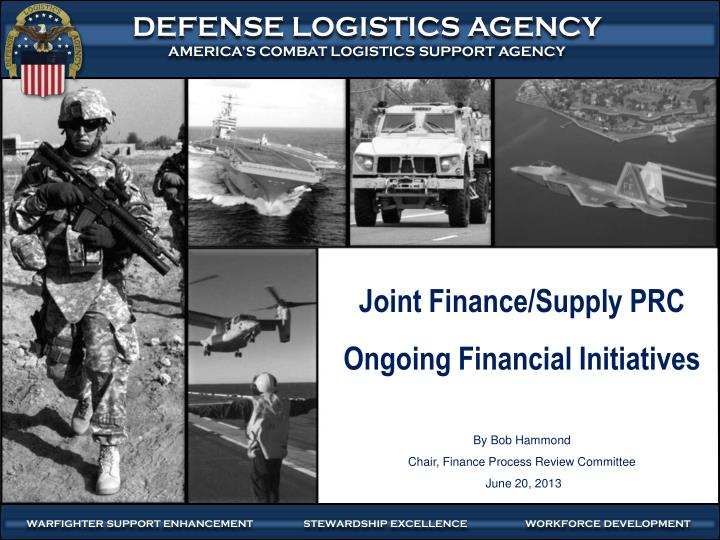 Joint Finance/Supply PRC