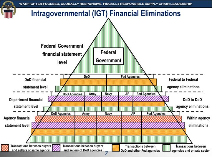 Intragovernmental (IGT) Financial Eliminations