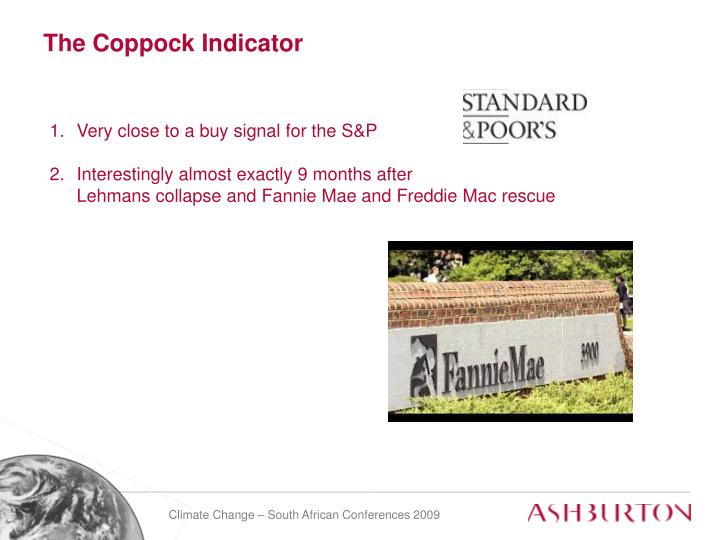 The Coppock Indicator