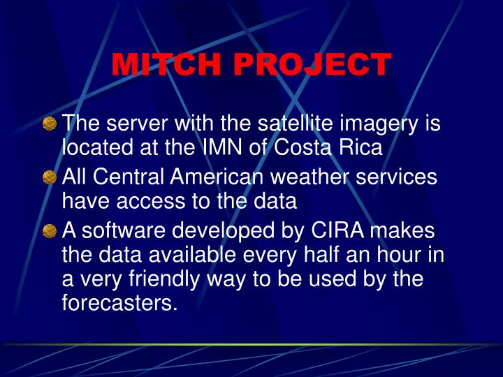 Mitch project