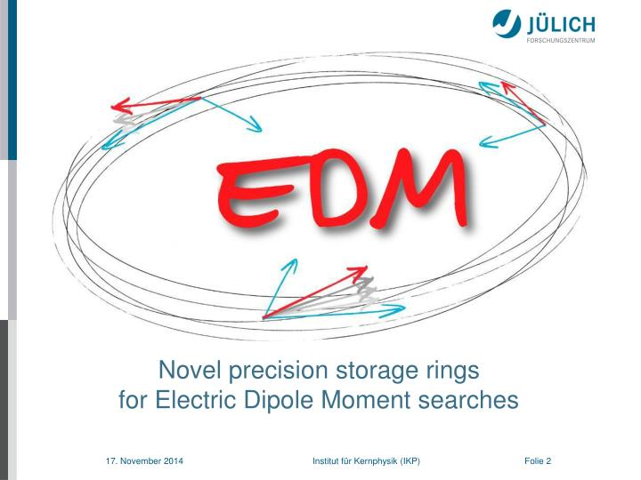 Novel precision storage rings