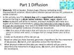 part 1 diffusion