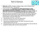 part 2 osmosis