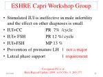 eshre capri workshop group