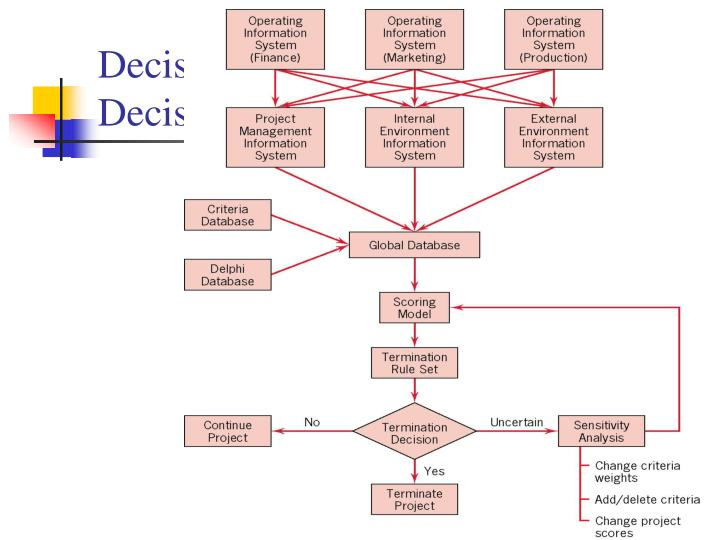 Decision Structure for a Termination Decision