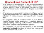 concept and content of ikp
