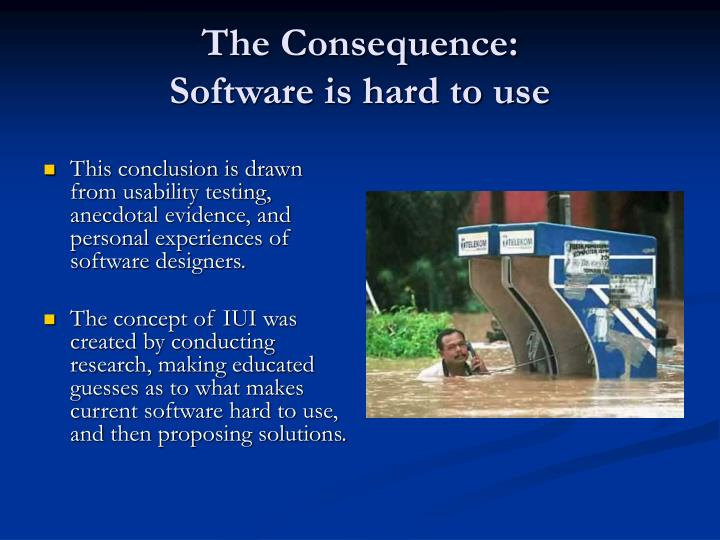 The Consequence: