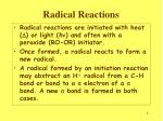 radical reactions1