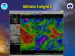 500mb heights