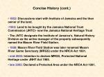 concise history cont