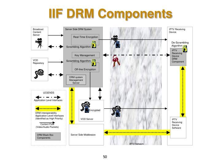 IIF DRM Components