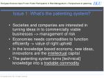 issue 1 what s the patenting system