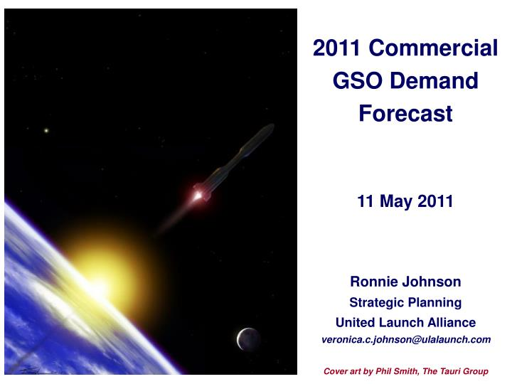 2011 commercial gso demand forecast