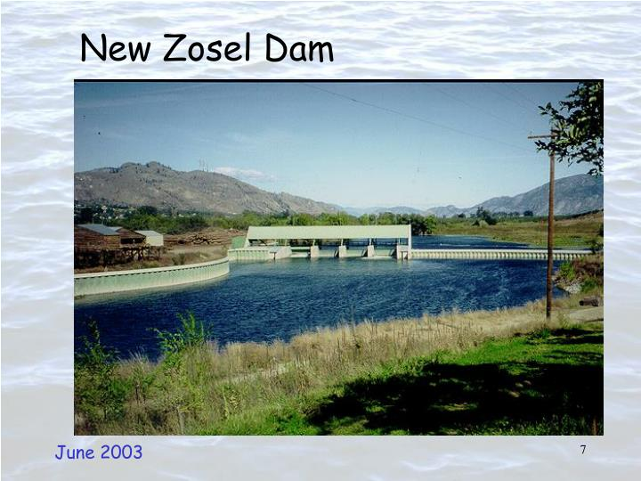 New Zosel Dam