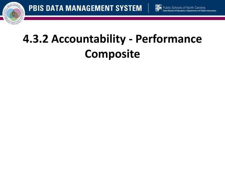 4.3.2 Accountability - Performance Composite