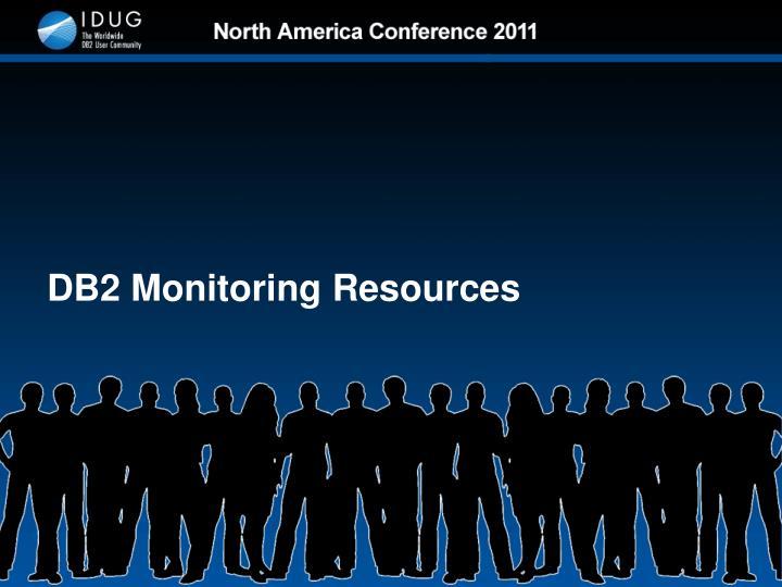 DB2 Monitoring Resources