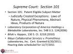 supreme court section 101