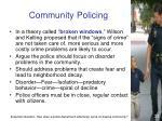 community policing2