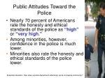 public attitudes toward the police2