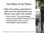 the roles of the police1