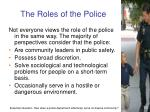 the roles of the police2