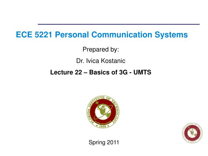 ece 5221 personal communication systems n.