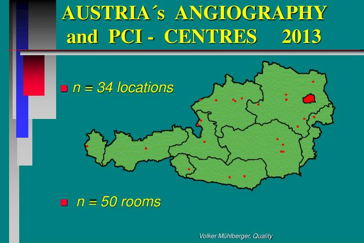 Austria s angiography and pci centres 2013