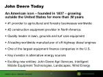 john deere today