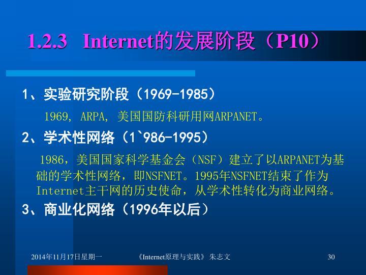 1.2.3   Internet