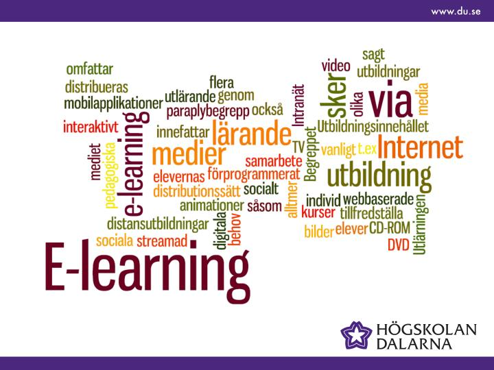 Quality of e learning how are we doing and can we do better