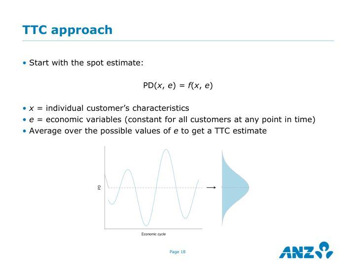 TTC approach