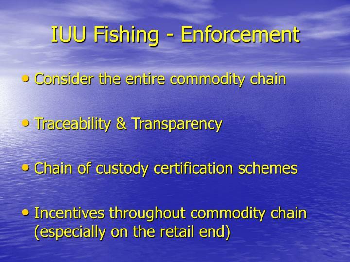 IUU Fishing - Enforcement