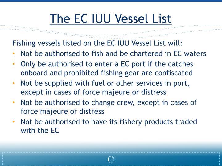 The EC IUU Vessel List
