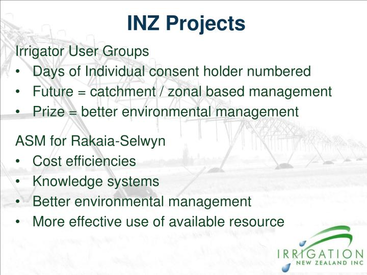 INZ Projects