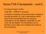 some fva frameworks cont d1